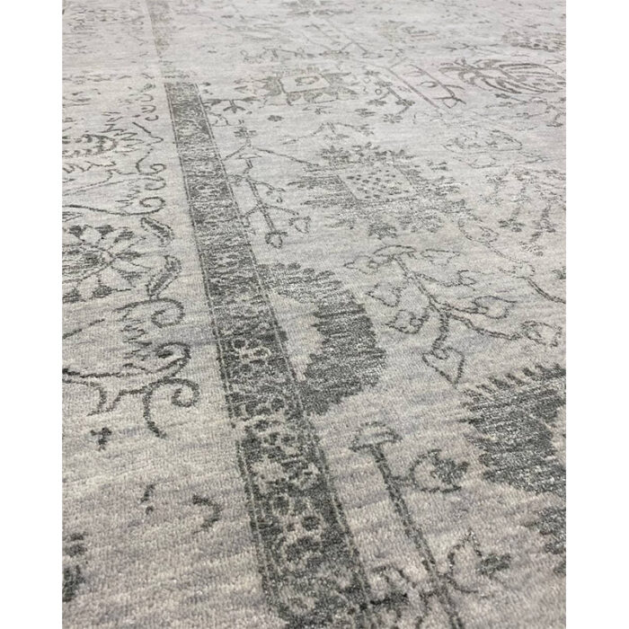 9'0x12'0 Gray Transitional Area Rug - 501446g
