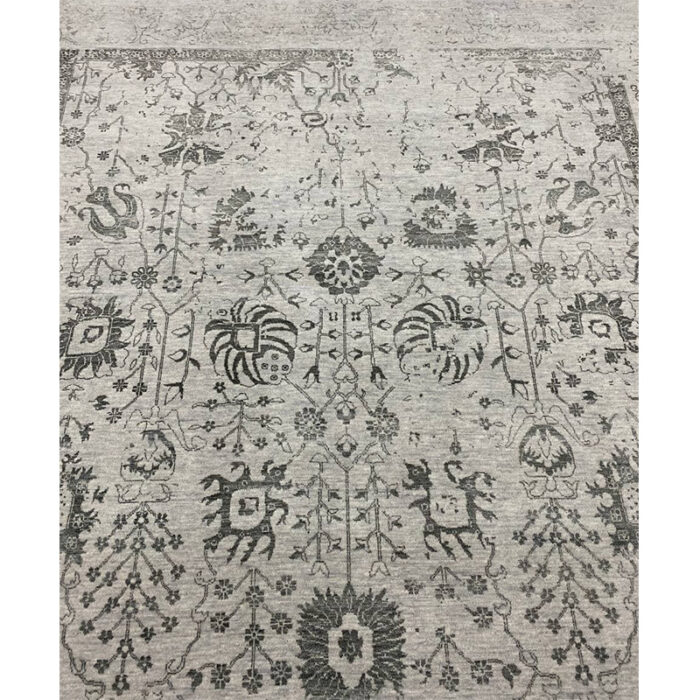 9'0x12'0 Gray Transitional Area Rug - 501446h