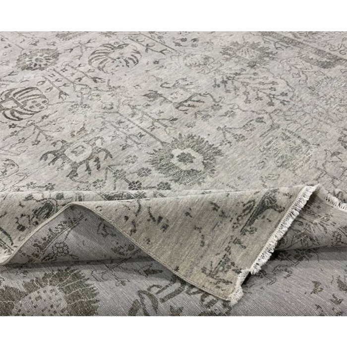 9'0x12'0 Gray Transitional Area Rug - 501446j