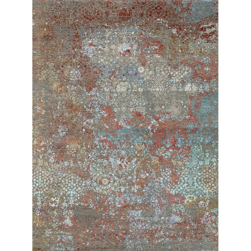 9'1x12'0 Multi-Colored Transitional Rug - 501450