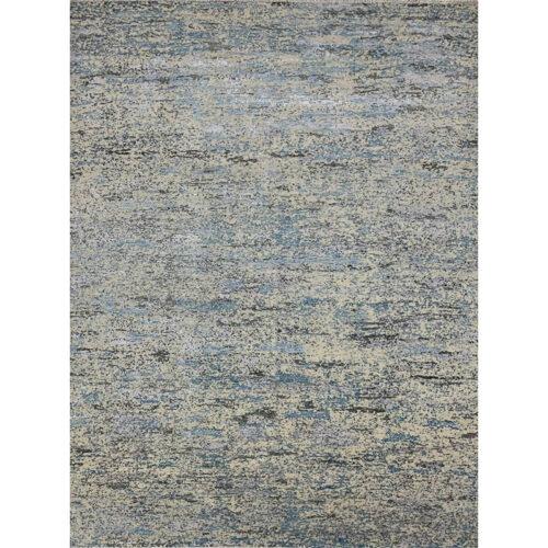 "9'0"" x 11'9"" Modern Abstract Area Rug - 501463"