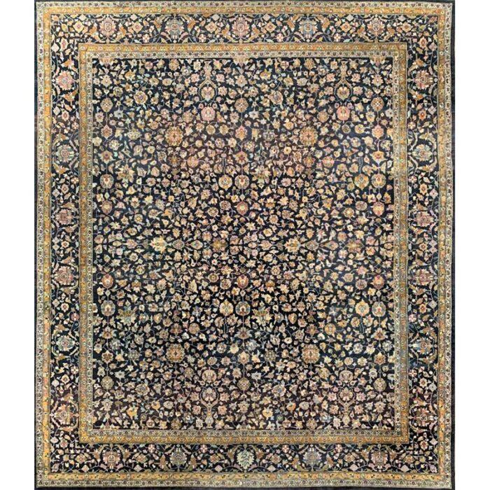 "10'3"" x 12'2"" Antique Persian Tabriz Rug - 501555"