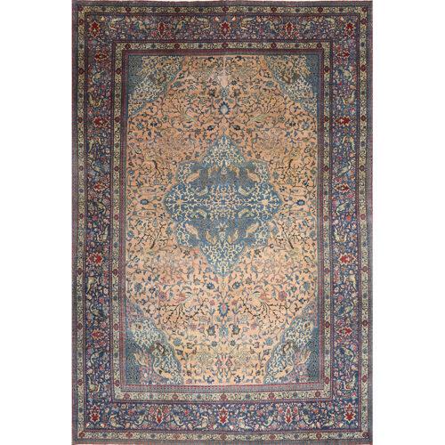 "10'10"" x 16'2"" Antique Persian Tabriz Rug - 501500"