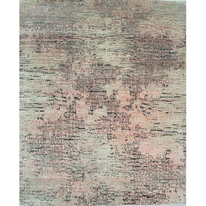 """8'3"""" x 9'10"""" Modern Abstract Rug - 501440"""