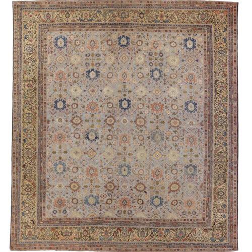 14x15 Antique Persian Mahal Area Rug - 108025