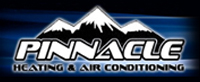 Website for Pinnacle Heating and Air Conditioning