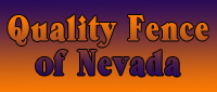Website for Quality Fence of Nevada