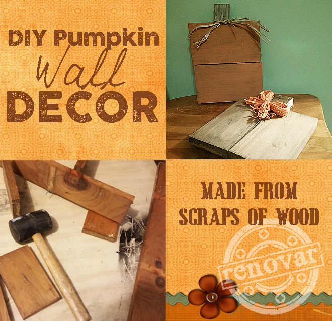 How to Make a Wooden Pumpkin Out of Scrap Wood