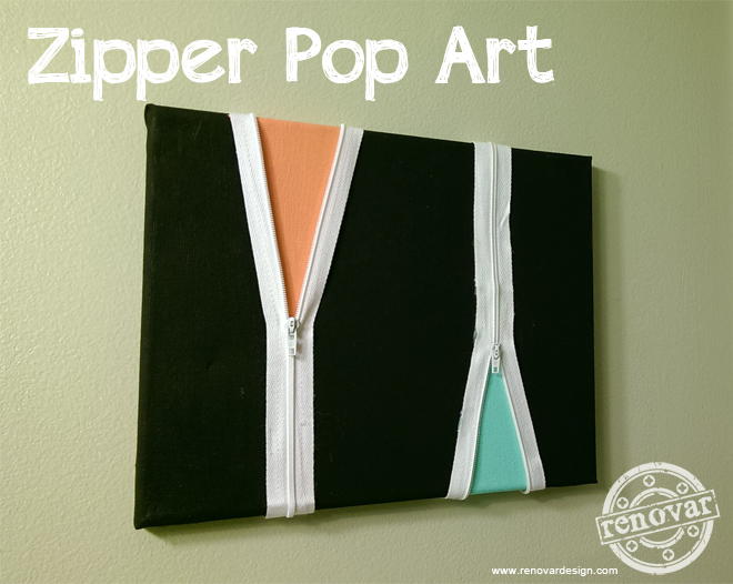 zipper pop art from renovar