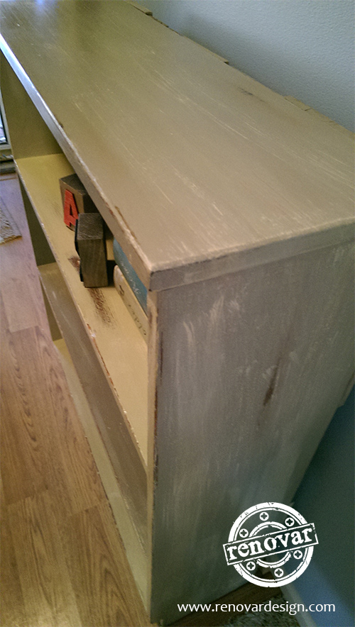 how to make weathered furniture 2