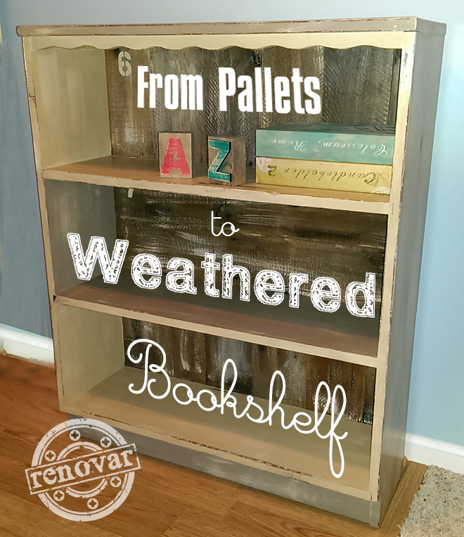 how to make weathered furniture main