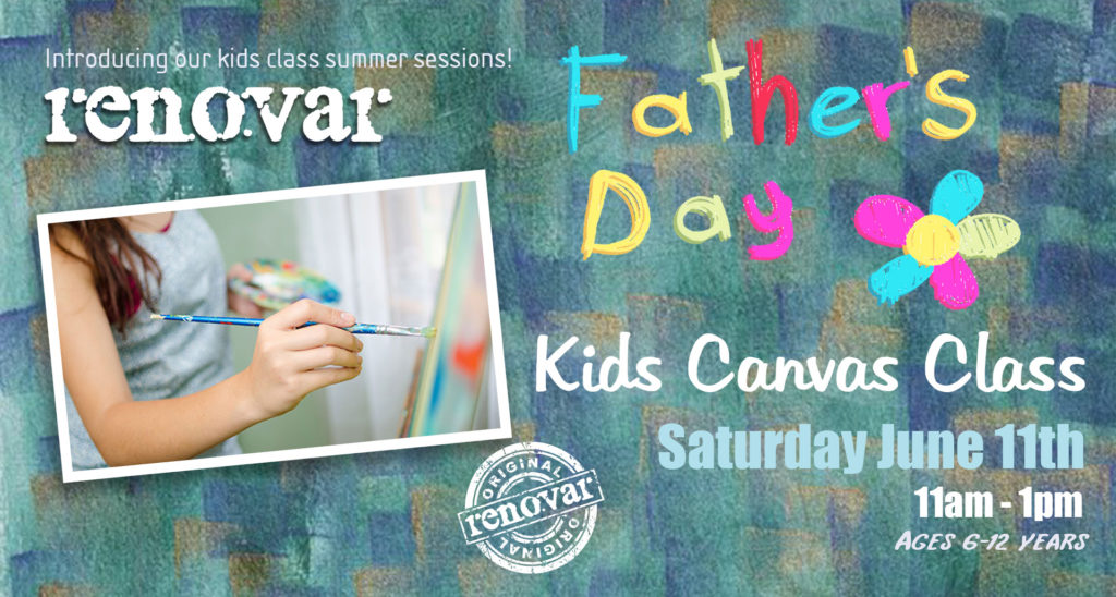 kids canvas classes