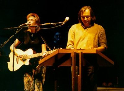 Rich Mullins and Carolyn Arends in Concert (circa 1995)