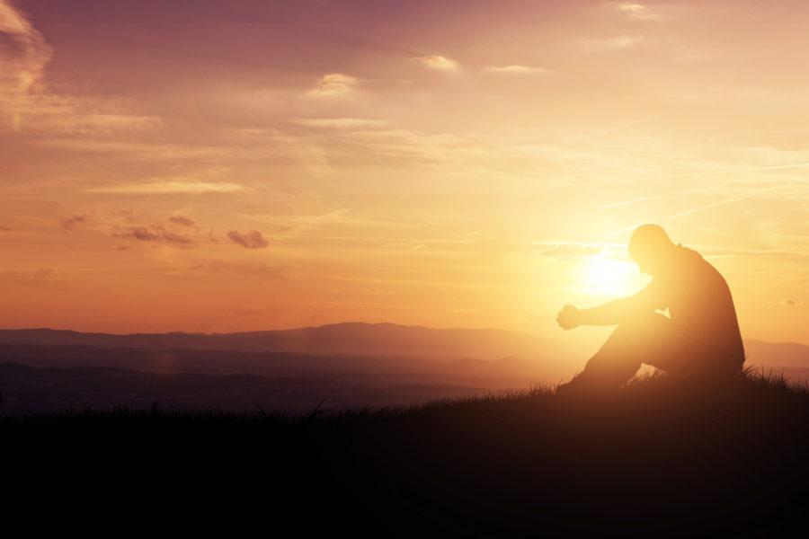 09 01 Prayer At Sunset
