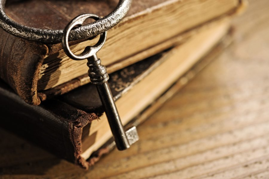 Old Books Key
