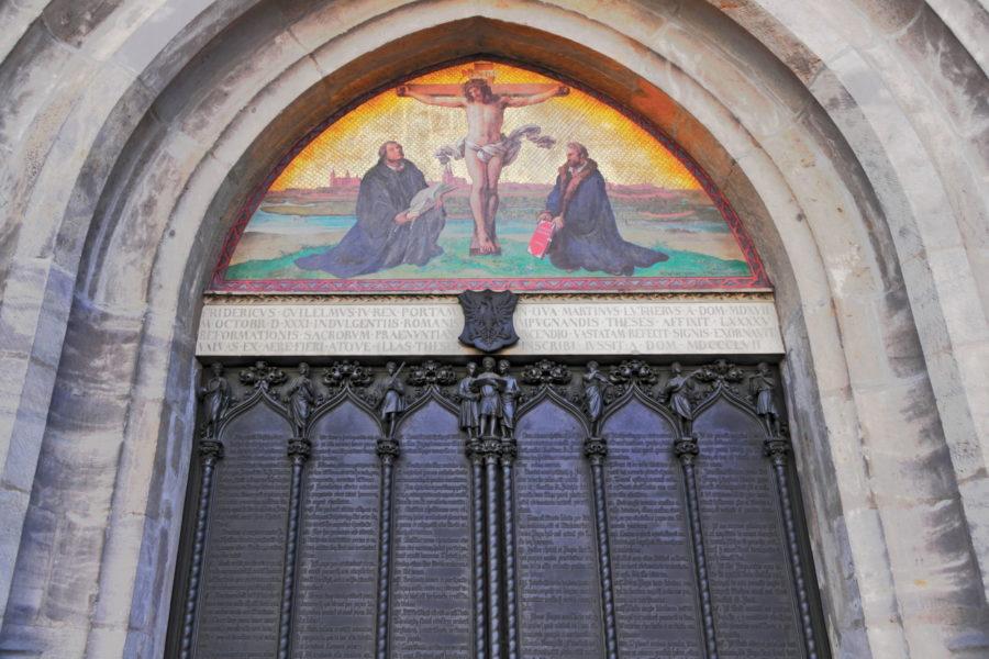 Church Door at Wittenberg