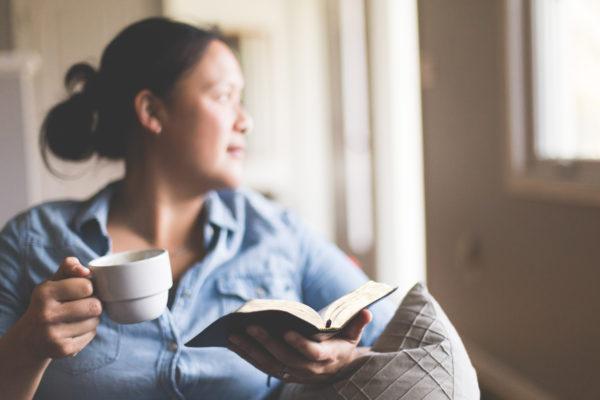 2018 03 09 Woman Meditating Bible
