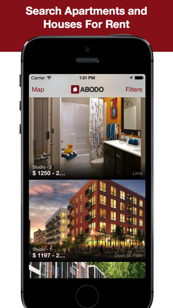 Love Being Able To Find Exclusive Apartment Listings In Any City Within  Minutes? Luckily, Thereu0027s ABODO For That And Our Awesome Apartment Search  App For ...