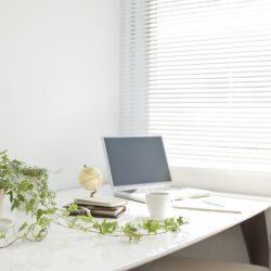 Minimalist study space