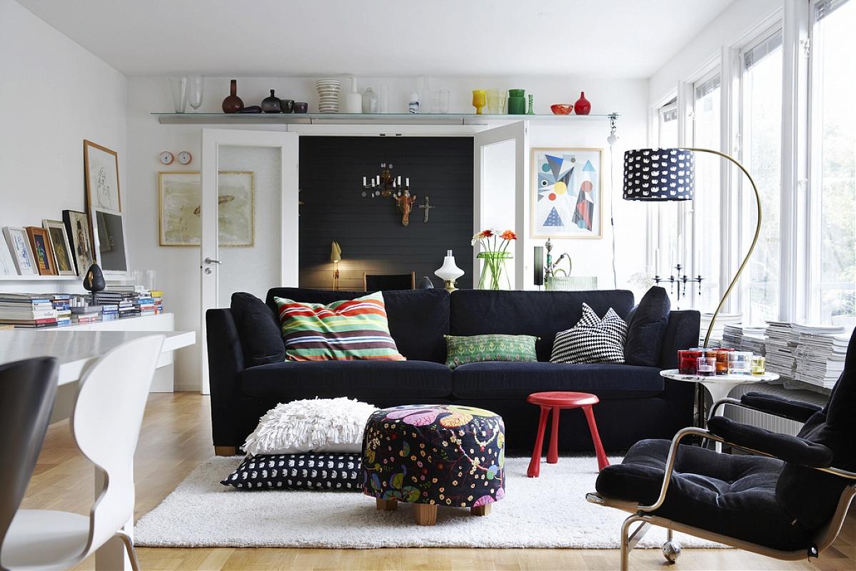 Glamorous Interior with Lamp