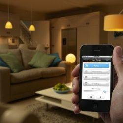 Automated Lighting via iPhone