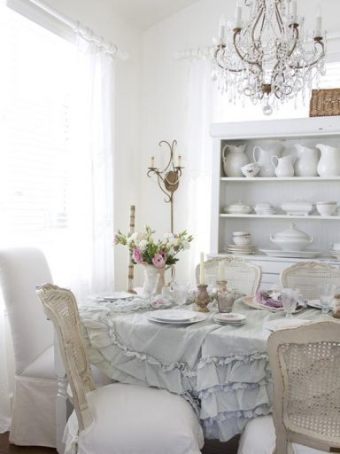 Shabby Chic Soft Colors