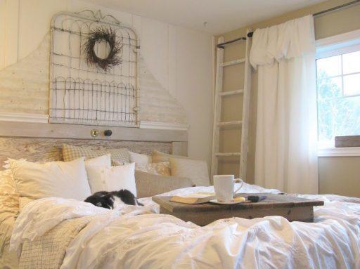 Feminine Shabby Chic Bedroom