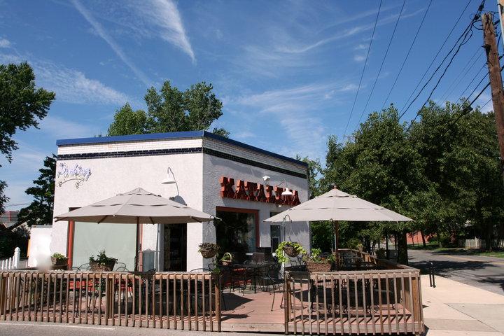 Katalina's Café Corner Exterior