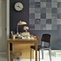 Chalkboard Desk Wall
