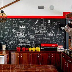 Creative Chalkboard Wall