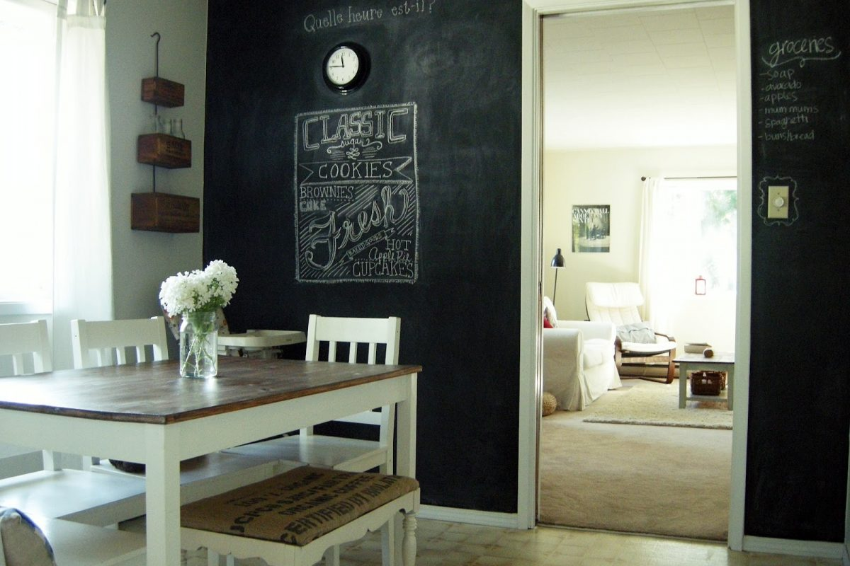 5 Awesome Ways to Use Chalk Paint in Your Apartment - ABODO Apartments