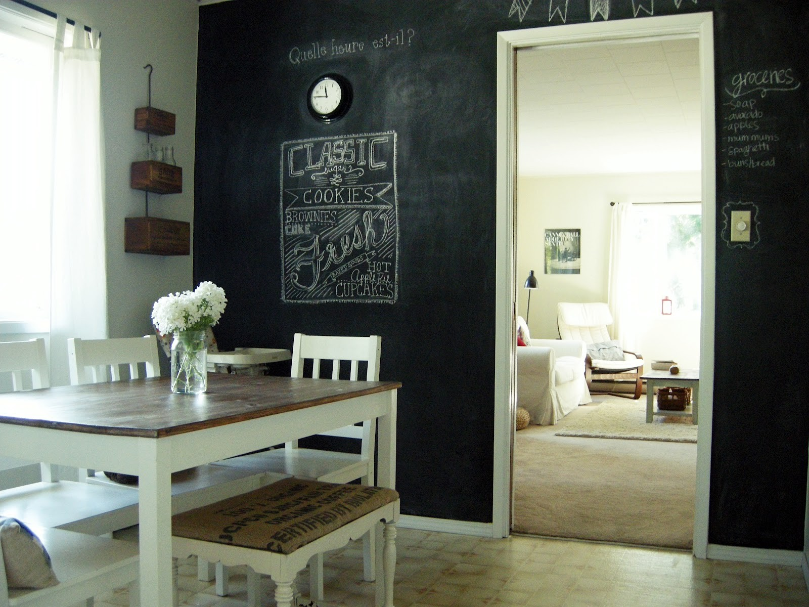 Chalkboard Paint Kitchen 5 Awesome Ways To Use Chalk Paint In Your Apartment Abodo Apartments