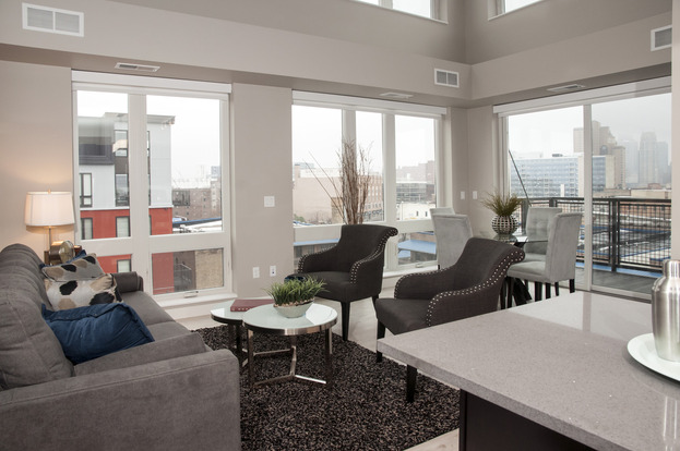 Renting in a more upscale apartment building – like this one in Minneapolis, Minnesota – will establish an impressive rent history at a young age, helping you get great places in the future!