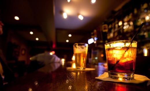 Salty Dog Saloon Drinks