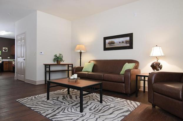 Apartment Awash With Walnut White: Top College Station And Bryan Apartments For TAMU Students