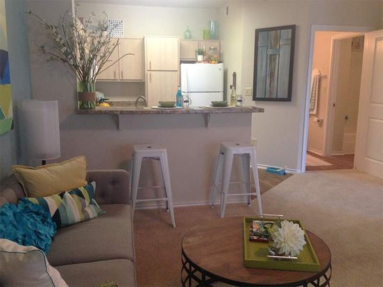 Cheerful, multi-use living space in Element at University Park apartment