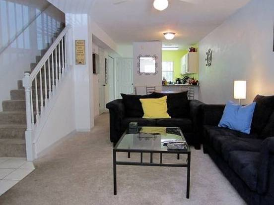 Open floorplan in a Landings at Bivens Arm apartment