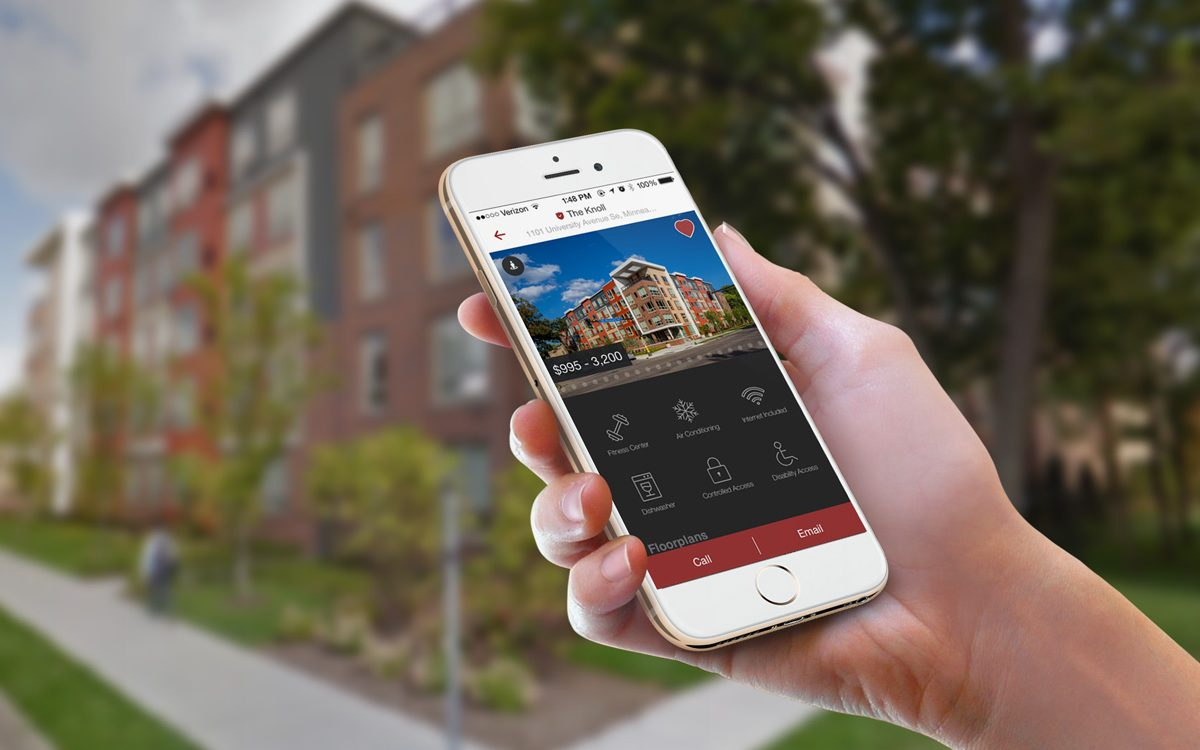 Attractive New Apartment Search App: More Local, More Awesome
