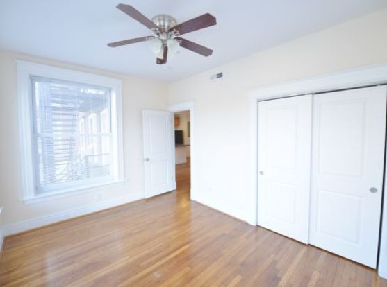 Bright and airy 721 Limit Avenue Bedroom with hardwood floors and spacious closet