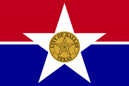 Dallas City Flag