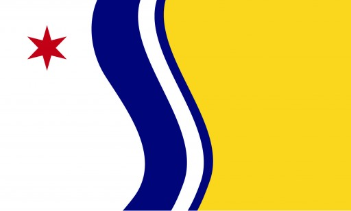 South Bend Indiana New Flag