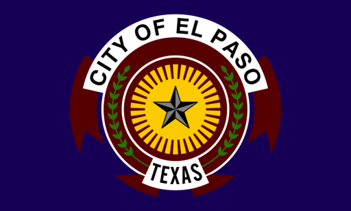City of El Paso Flag