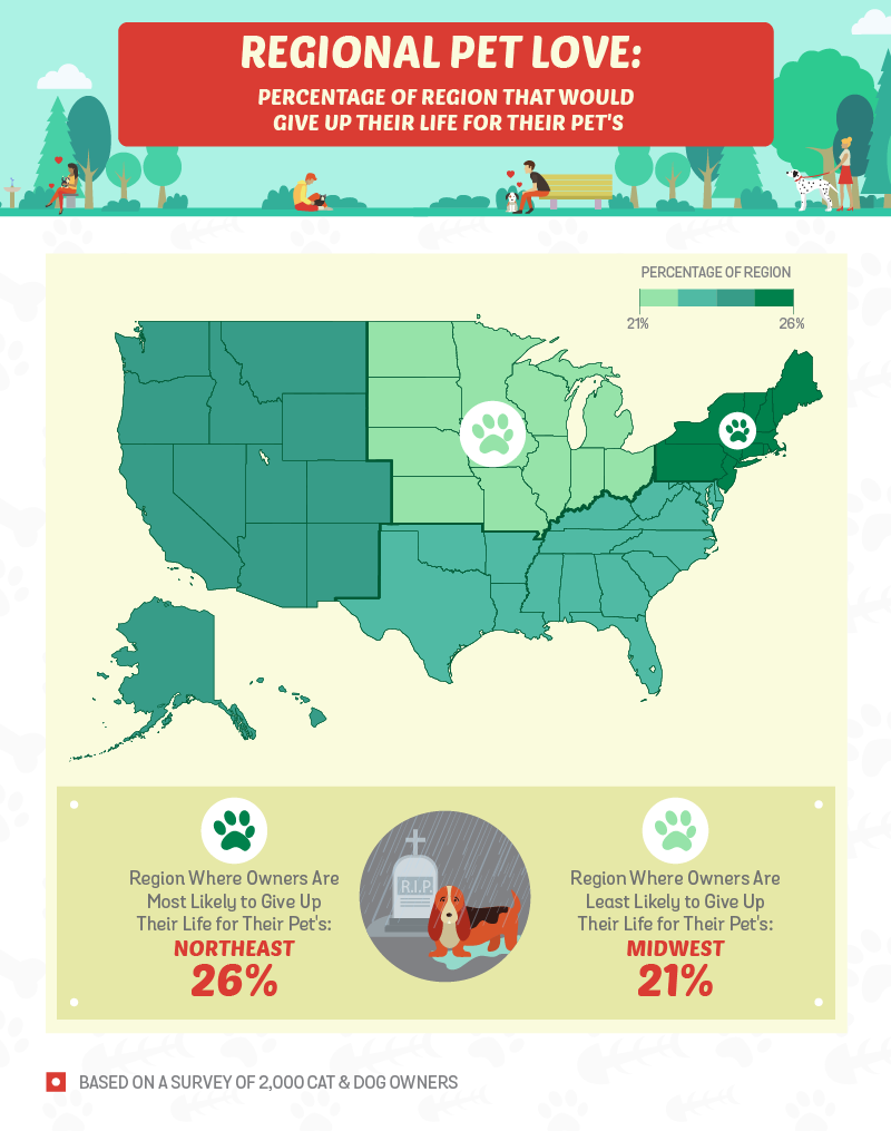 Pet Love By Region