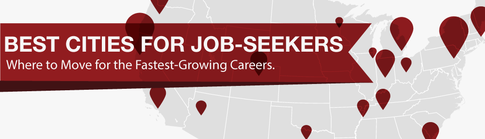 Best Cities for Job-Seekers header
