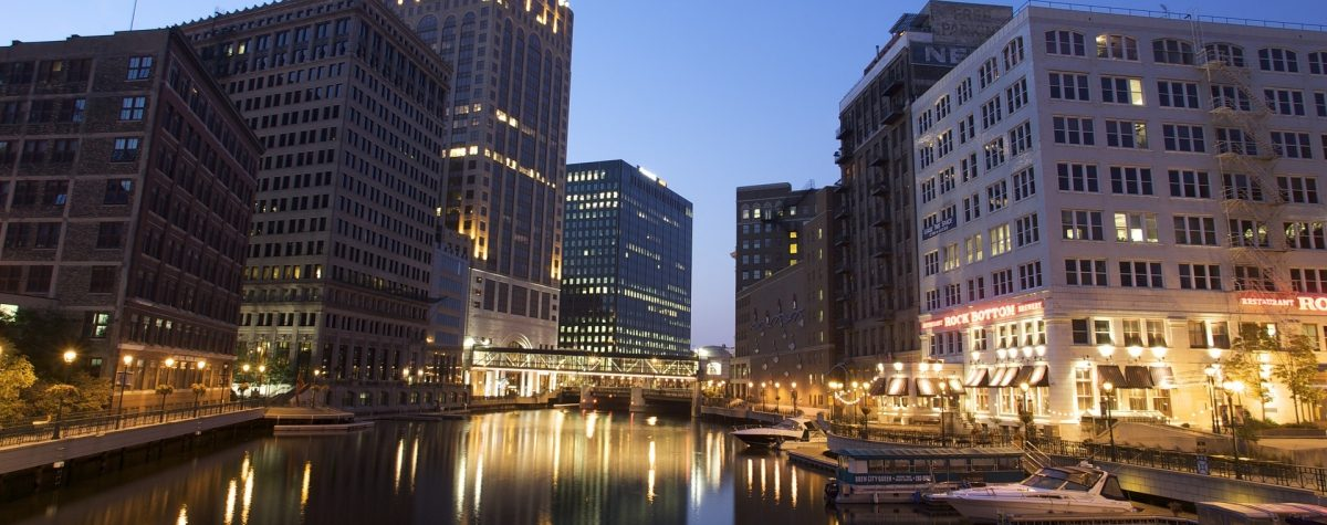 The Milwaukee River at Night