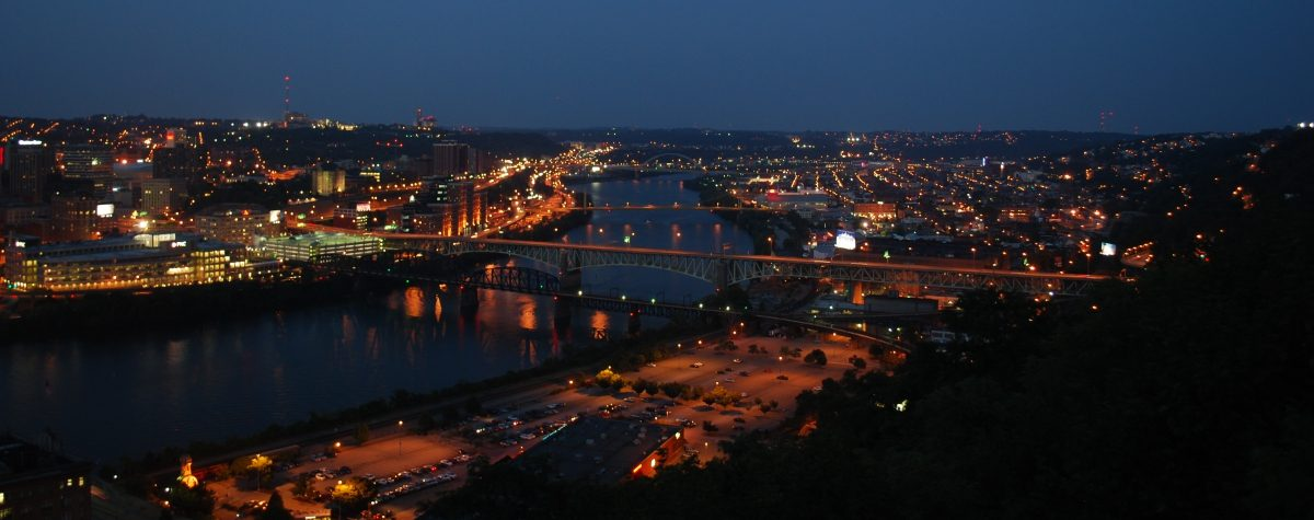 Find an apartment in Pittsburgh's South Side neighborhood.