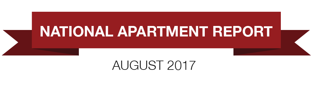 August 2017 National Rent Trends