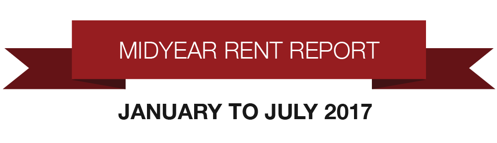 Rent Changes January Through July 2017