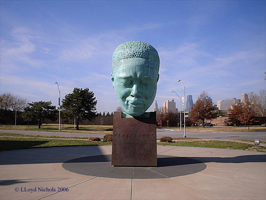 Charlie Parker Statue