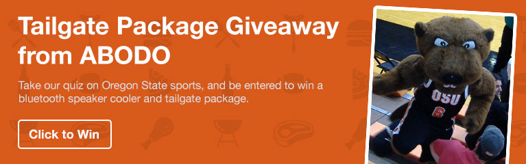 Oregon State Tailgate Package Giveaway
